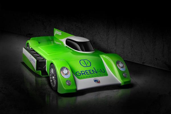 Le concept Panoz Racing GT-EV dévoilé au Mans