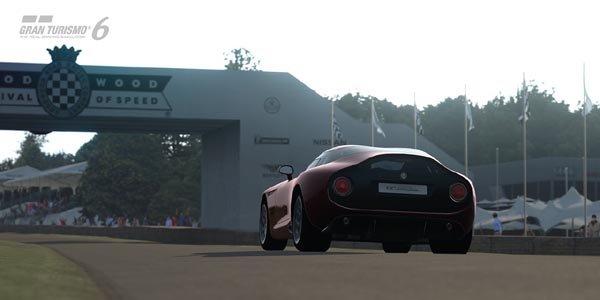 La piste de Goodwood dans Gran Turismo 6