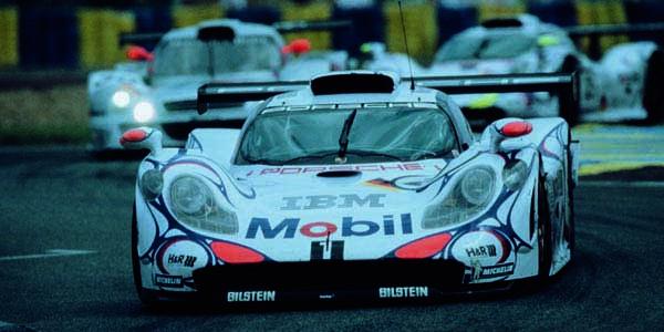 La Porsche LMP1 hybride en piste mi 2013