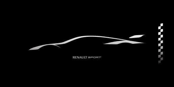 Une nouvelle voiture de course pour Renault