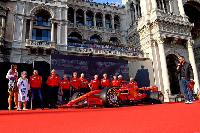 Les 90 ans de la Scuderia Ferrari fêtés à Milan