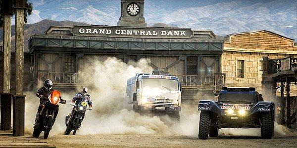 Le team RedBull prêt pour le Dakar