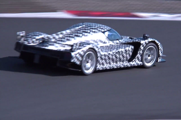 La Toyota GR Super Sport en action au Japon