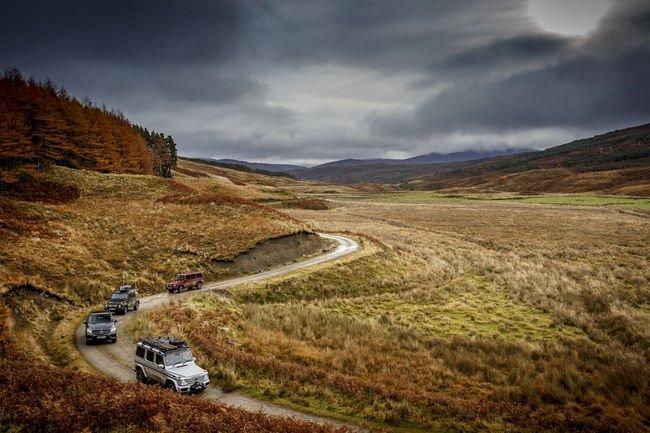 Insolite : ils traversent l'Écosse en mode tout-terrain
