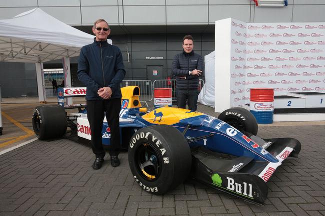 La Williams FW14B de Nigel Mansell à Silverstone Classic