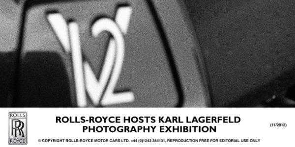 Karl Lagerfeld shoote Rolls Royce
