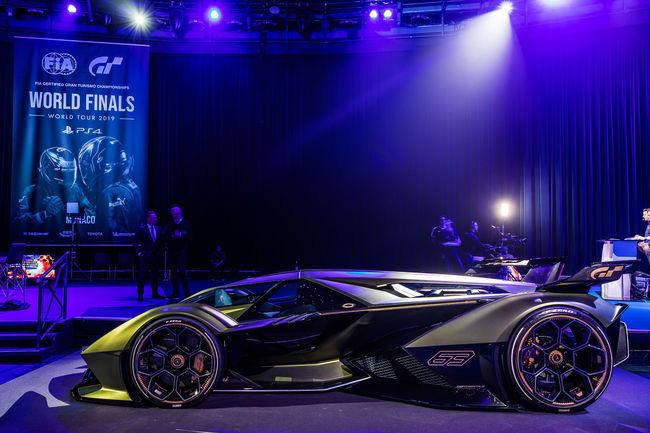 Concept Lamborghini Lambo V12 Vision Gran Turismo