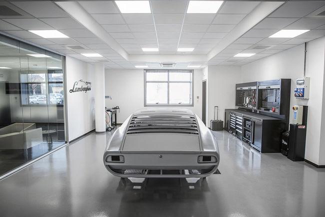 Lamborghini PoloStorico : ouverture du nouveau centre