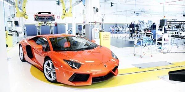 Lamborghini vient en aide à l'Italie