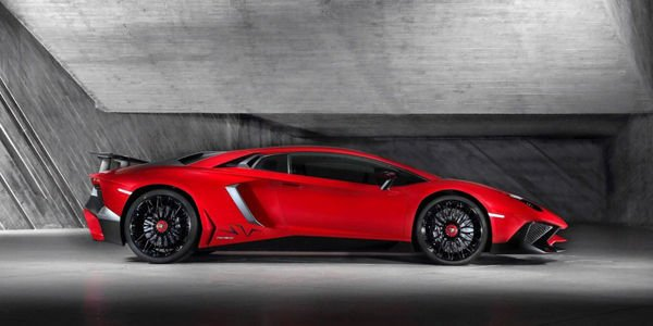 Lamborghini Aventador SV : le Roadster confirmé