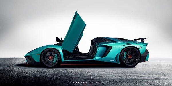 Lamborghini Aventador SV Roadster : comme ça ?