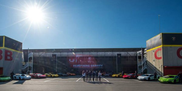 Lamborghini Aventador SV week à Barcelone