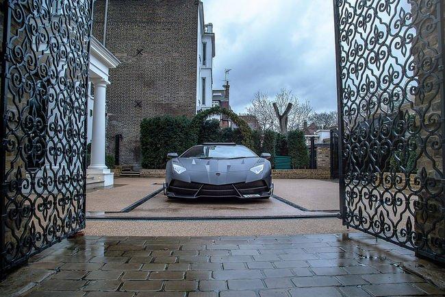 Lamborghini Aventador J.S.1 Edition par Mansory