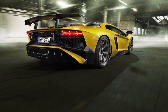 Lamborghini Aventador SV par Novitec Torado