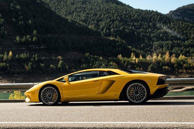 Lamborghini Aventador S : la voilà