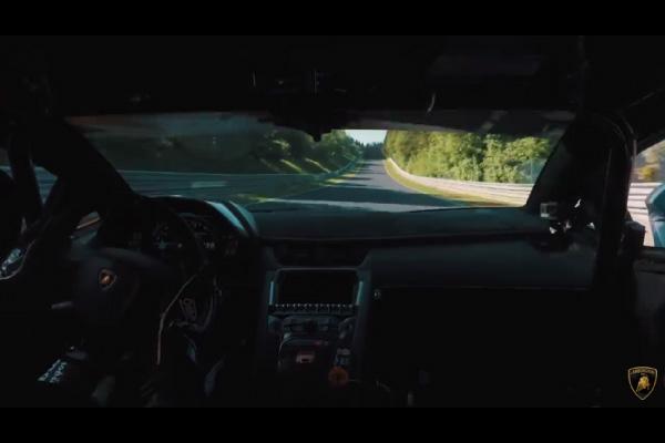 Nürburgring : un record pour l'Aventador SVJ ?
