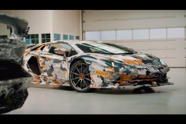Lamborghini Aventador SVJ : nouveau teaser