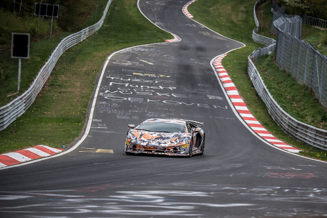 Lamborghini Aventador SVJ : record sur le Ring