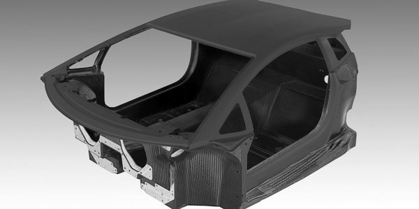 La structure de la Lamborghini LP700
