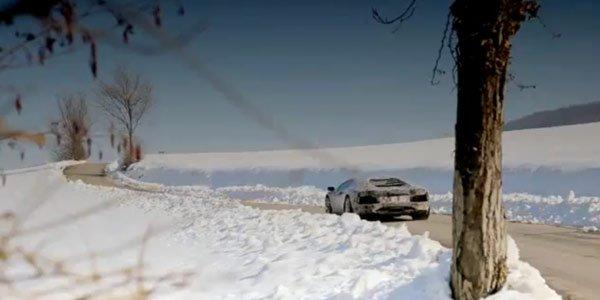 La Lamborghini Aventador en vidéo !