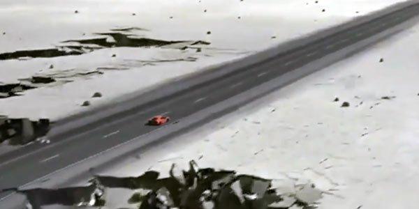 La fin du monde en Aventador