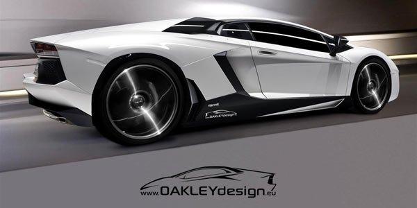 La Lamborghini Aventador déjà préparée