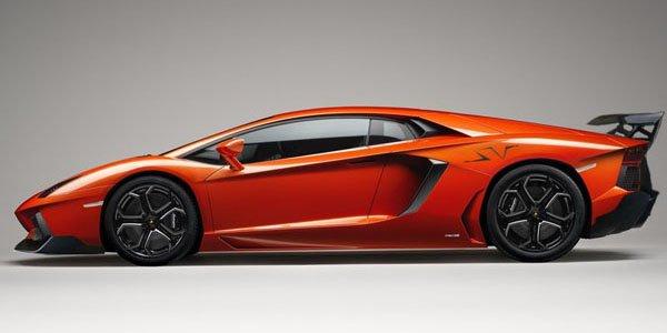 Lamborghini Aventador SV : elle approche