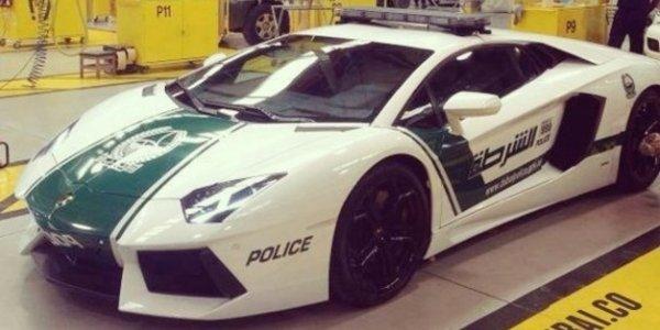 Une Aventador pour la police de Dubaï