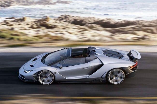 La Lamborghini Centenario Roadster dévoilée