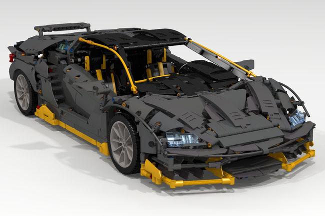 Intéressés par une Lamborghini Centenario en LEGO ?