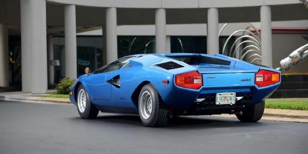 Une Lamborghini Countach Periscopica aux enchères