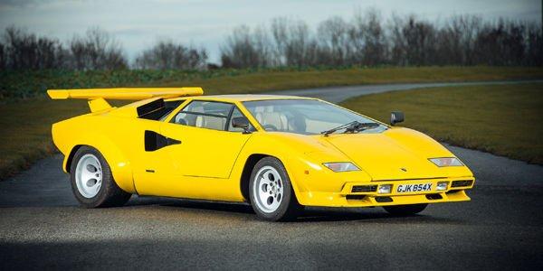 Une rare Lamborghini Countach LP400S aux enchères