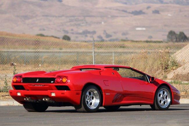 Une Lamborghini Diablo ex-Foreman aux enchères