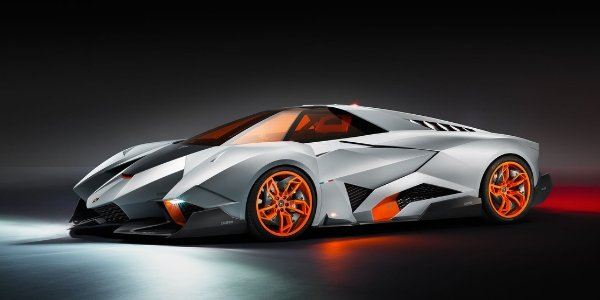 Lamborghini Egoista, premières photos