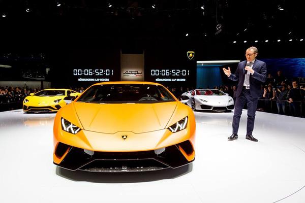Lamborghini électrique : pas avant 2025 ?
