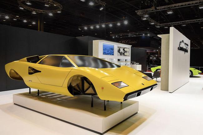 Le Lamborghini Polo Storico à Rétromobile