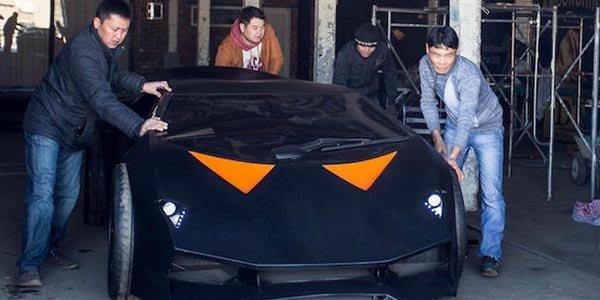 Une Lamborghini faite maison pour 15000$
