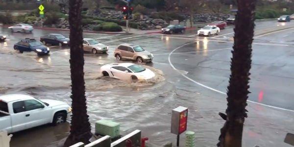 Insolite : une Lamborghini Gallardo sauvée des eaux