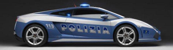 Italie : une Lamborghini pour la police