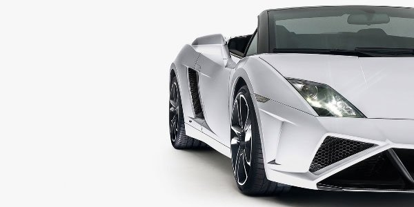 Lamborghini Gallardo Spyder restylée