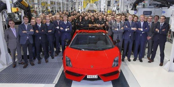 La Lamborghini Gallardo fait ses adieux