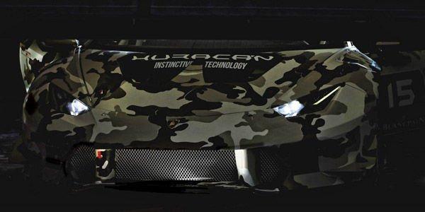 La Lamborghini Huracan Super Trofeo se dévoile