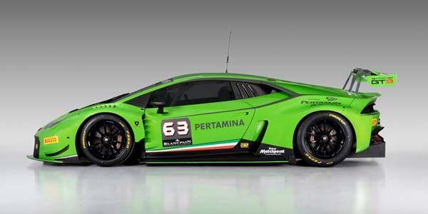 Lamborghini lève le voile sur sa Huracan GT3