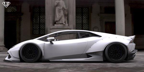 Lamborghini Huracan par Liberty Walk