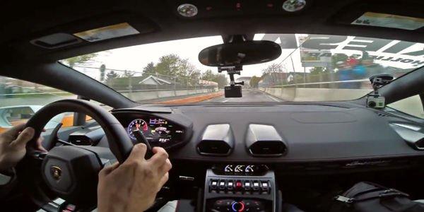 Embarquez à 275 km/h en Lamborghini Huracan