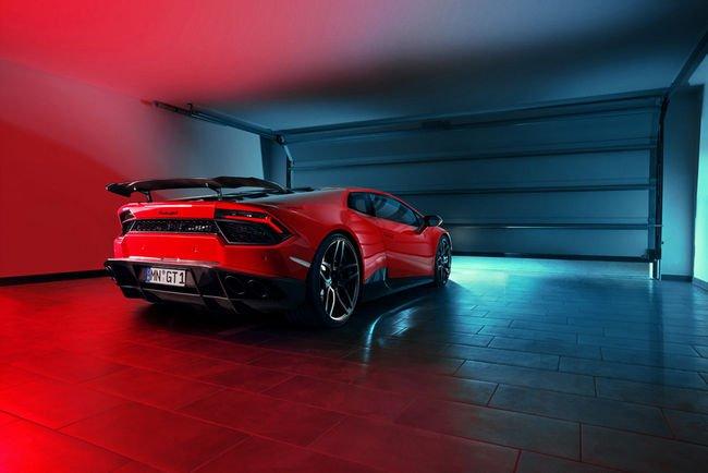 Lamborghini Huracan LP580-2 par Novitec Torado