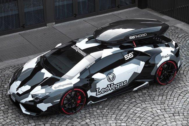 Jon Olsson a reçu sa nouvelle Lamborghini Huracan