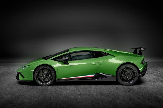 Lamborghini Huracan Performante : comme ça