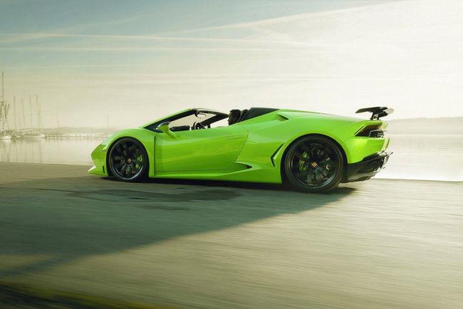 Lamborghini Huracan Spyder N-Largo par Novitec