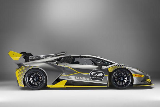 Nouvelle Lamborghini Huracan Super Trofeo Evo